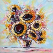 Пъстри слънчогледи (2)