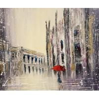 Milan in Snow