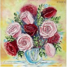 Цветен букет – рози
