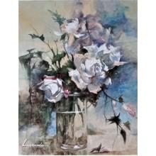 Натюрморт с рози - Димитър Димитров