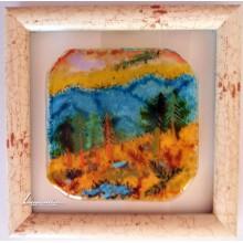 Пейзаж от топено стъкло