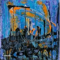 Абстракция 5 - Вечерен джаз