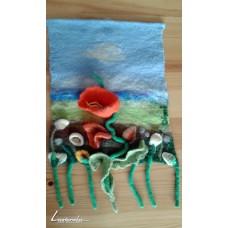 Пано с цветя и 3D ефект - Димитринка Тикларова