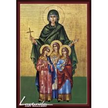 Свв. мъченици Вяра, Надежда, Любов и София (1)