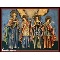Свв. мъченици Вяра, Надежда, Любов и София (2)