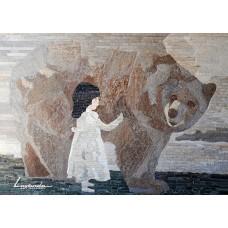 Момиченцето и мечока - Петър Вълчев